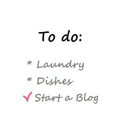 To do list start a blog - over Simple Thoughts