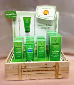 Weleda display #simplethoughts
