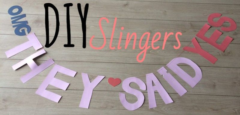 Simple Thoughts - diy slingers