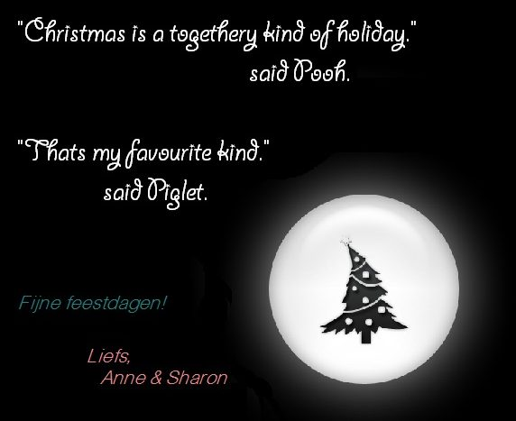 Christmas is a togethery kind of holiday
