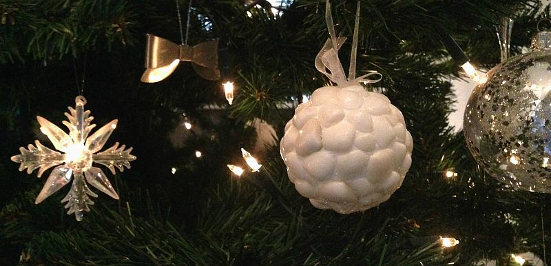 simple thoughts diy schelpen kerstbal kerstboom