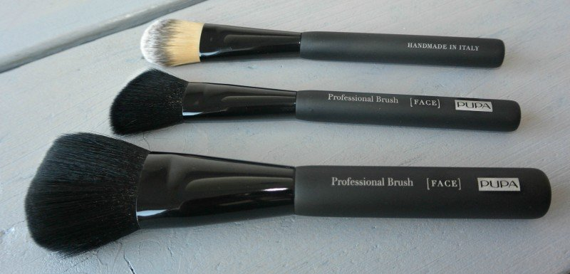 simple thoughts pupa professional brushes face