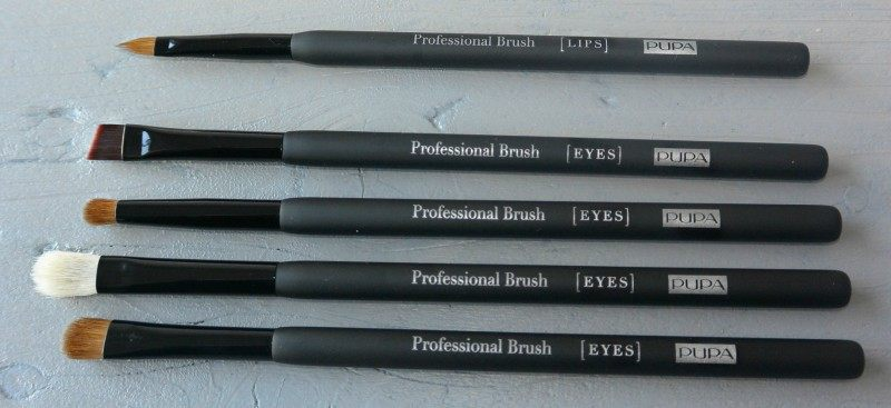 simple thoughts pupa professional brushes lip eyes