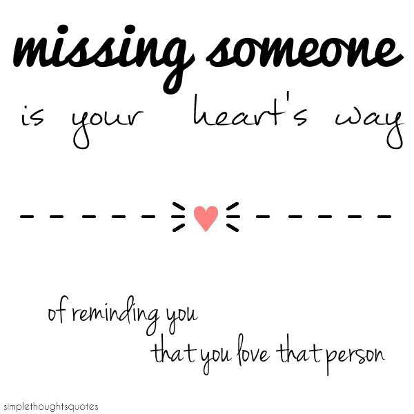 Sad I Miss You Quotes For Friends: Missing Someone Quote Van De Week