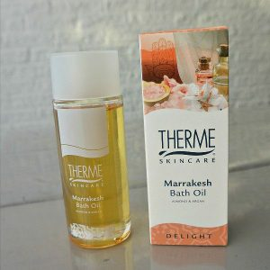 simple thoughts therme marrakesh bath oil