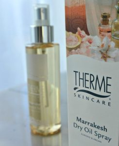 simple thoughts therme marrakesh dry oil