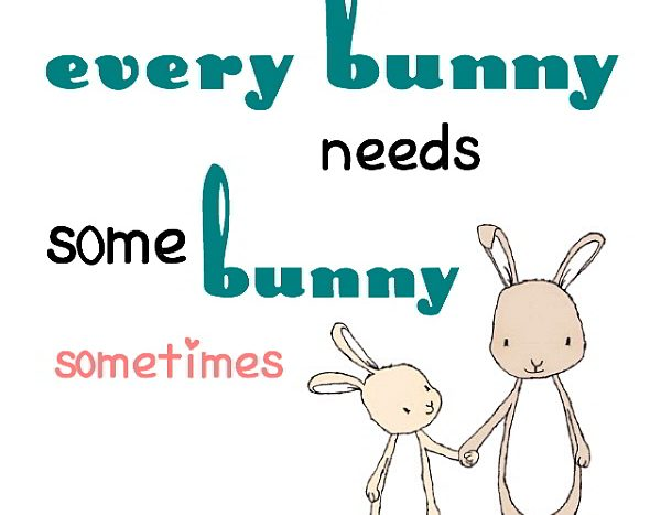 simple thoughts every bunny needs quote