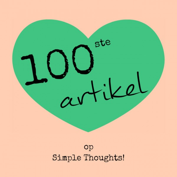 simpel thoughts 100ste artikel