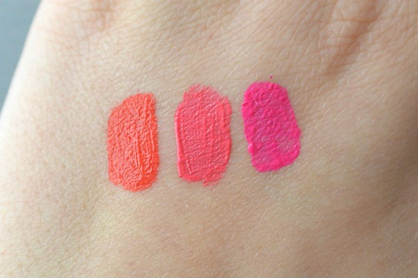 Pupa Coral Island review lipstick swatch