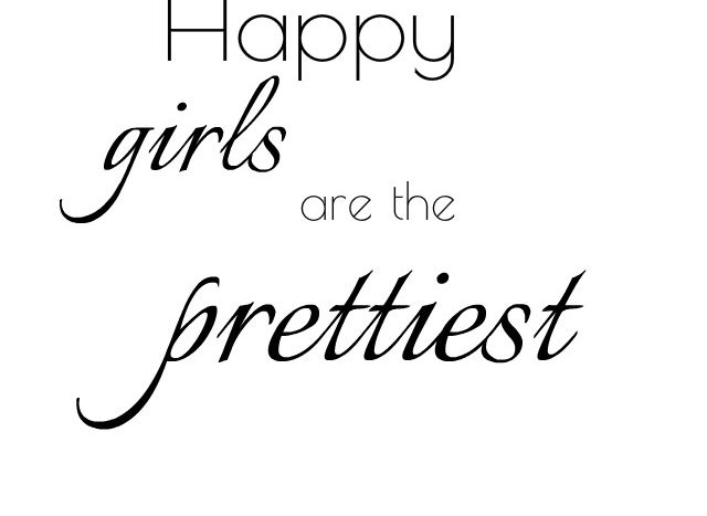 simpel thoughts happy girls