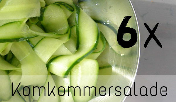 simple thoughts 6 x komkommersalade front