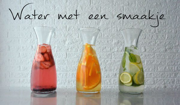 Simple thoughts water met een smaakje flavoured water infused water