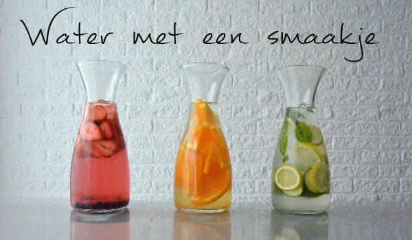 Simple thoughts water met een smaakje flavoured water infused water