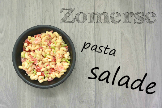 simple thoughts zomerse pastasalade