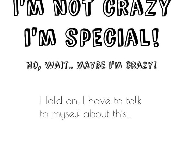 simple thoughts crazy special quote