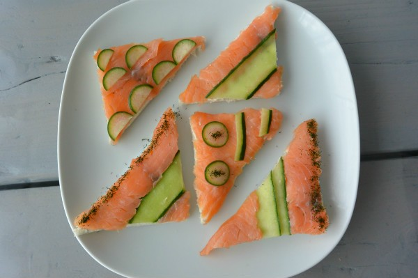 simple thoughts simpele high tea sandwiches zalm komkommer