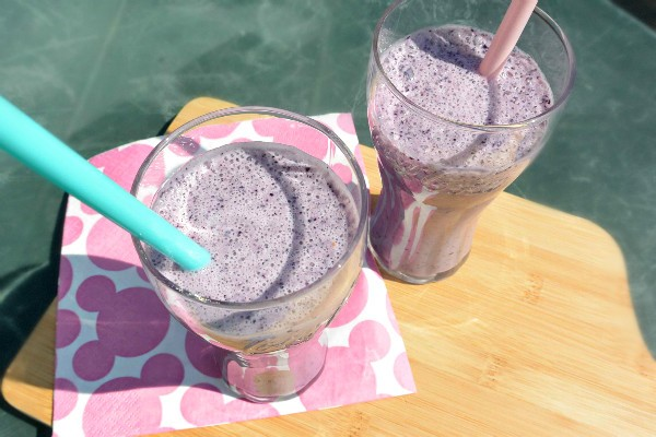 simple thoughts bosbessen smoothie