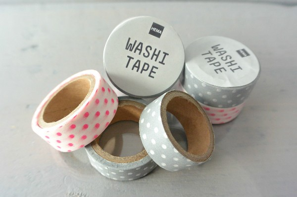 simple thoughts washi tape deur