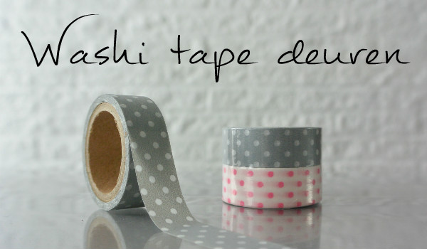 simple thoughts washi tape deuren masking tape