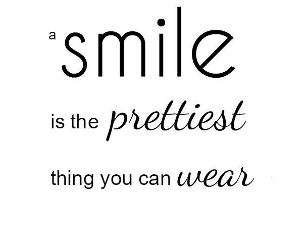 simple thoughts smile quote winnaar