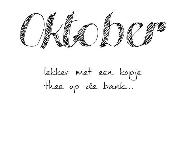 simple thoughts oktober quote