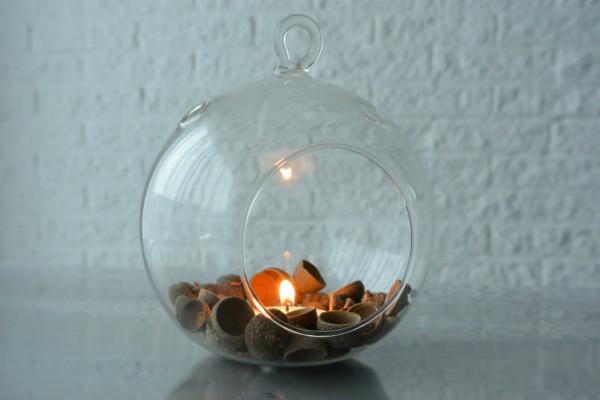 simple thoughts simpele herfst decoratie eikeldopjes