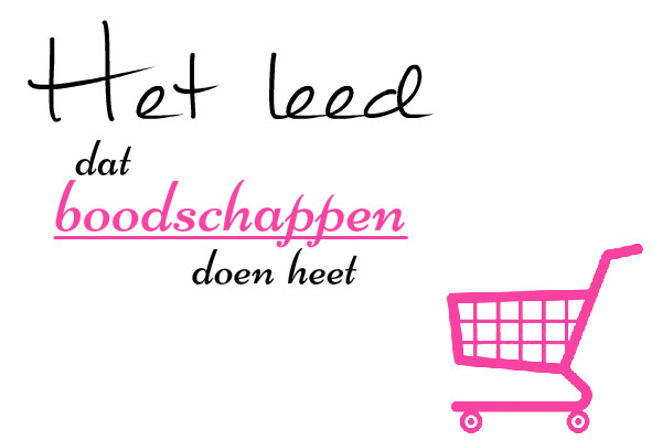 simple thoughts boodschappen boodschappenleed