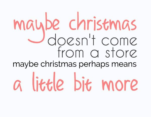 simple thoughts quotes christmas