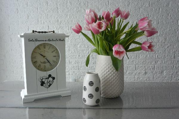 simple thoughts cadeautjes hema vaasjes klok