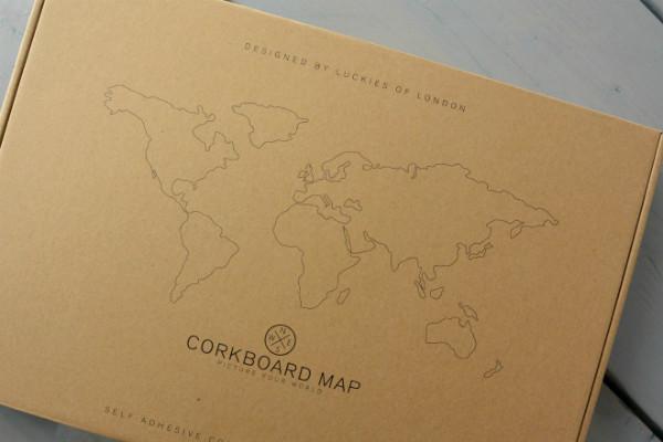 simple thoughts cadeautjes wereldkaart kurk