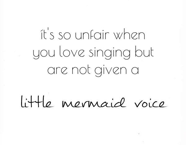 simple thoughts kleine zeemeermin stem