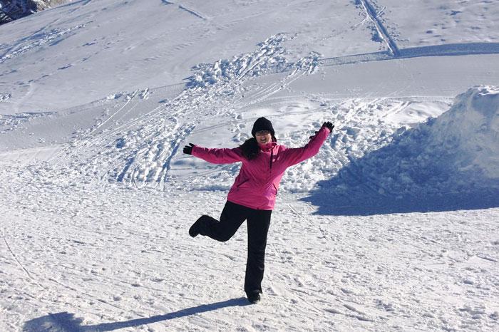 wintersport stubaital neustift tirol oostenrijk sneeuw
