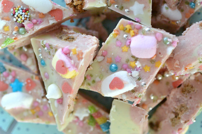 unicorn rocky road