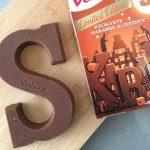 verkade krokante karamel en zeezout chocoladeletter